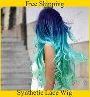 I want to dye my hair blue ombre, but there's a big chance my mom isn't going to let me. Please help?