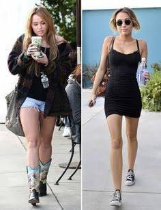 Which miley do you prefer ( body wise)?