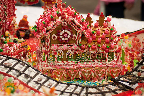 Which Gingerbread house looks the best?