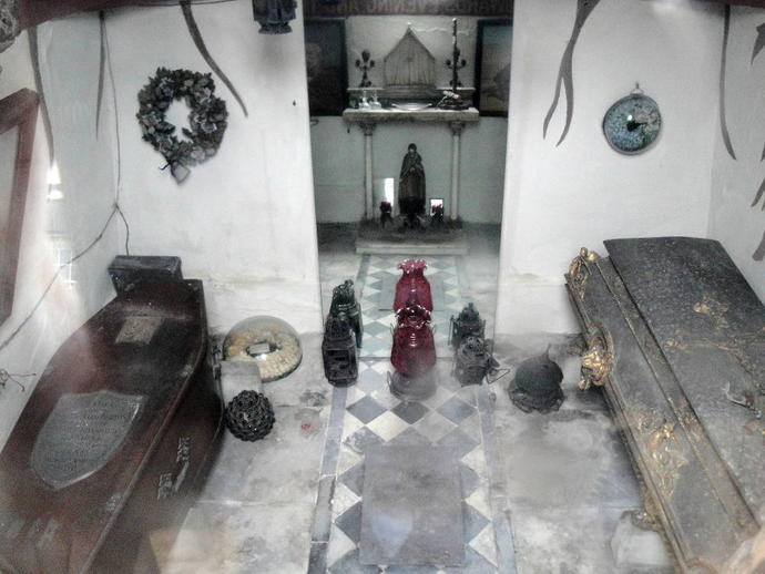 Have you ever been inside a mausoleum?