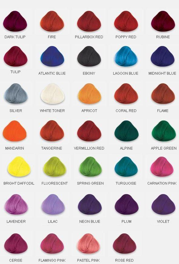 Hair Dye, What color do you want to dye?