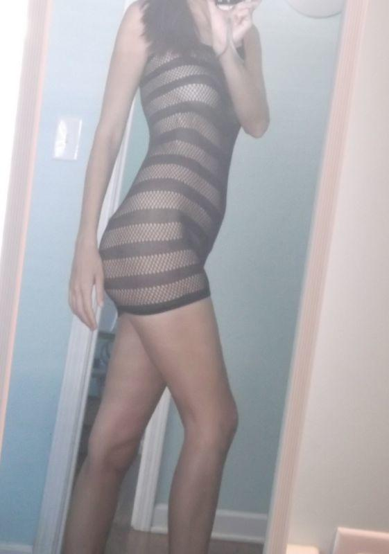 Too much showing for a club dress?
