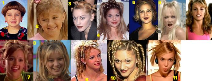 Have you ever rocked any of these hair dos? if yes. which ones? do you still wear it sometimes??