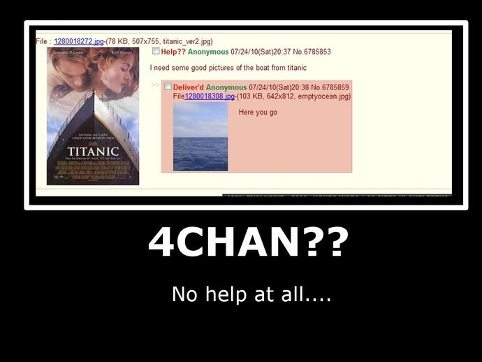 Do you think 4chan will take over the world?