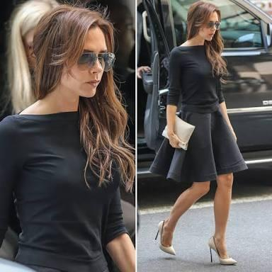 How do you think victoria beckham looks?