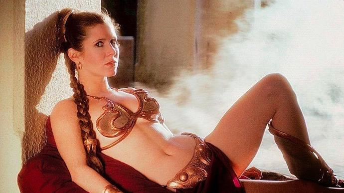 Rate Carrie Fisher from back in the day?