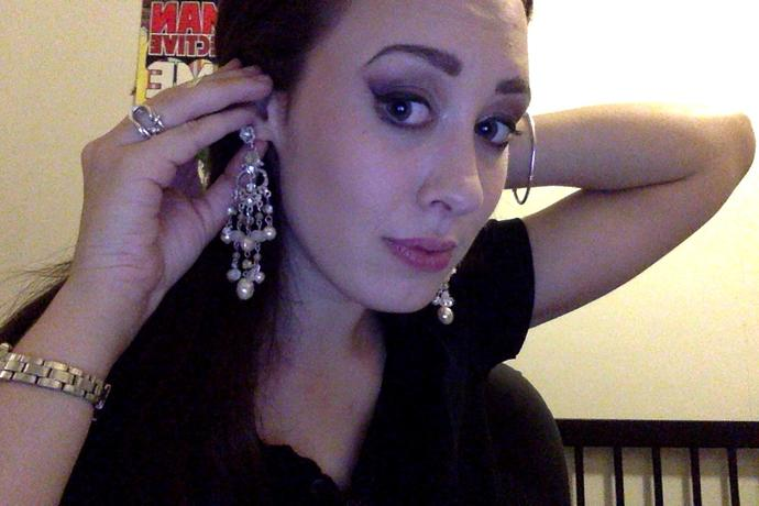Are my earring ridiculous?