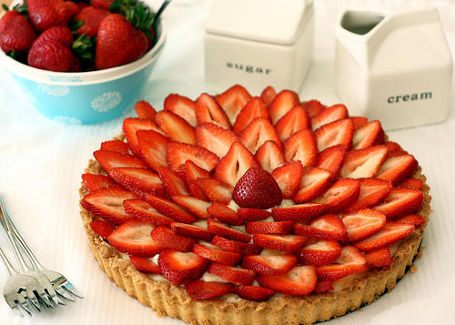 I've done myTakes for pancakes, and beignets, and now I'm thinking about doing one for a strawberry tart. Would this be a good idea?