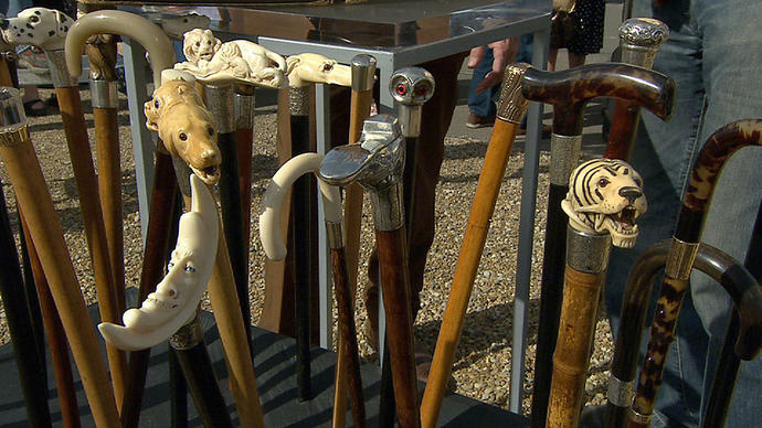 Which walking stick from those would you like to carry when you get old?