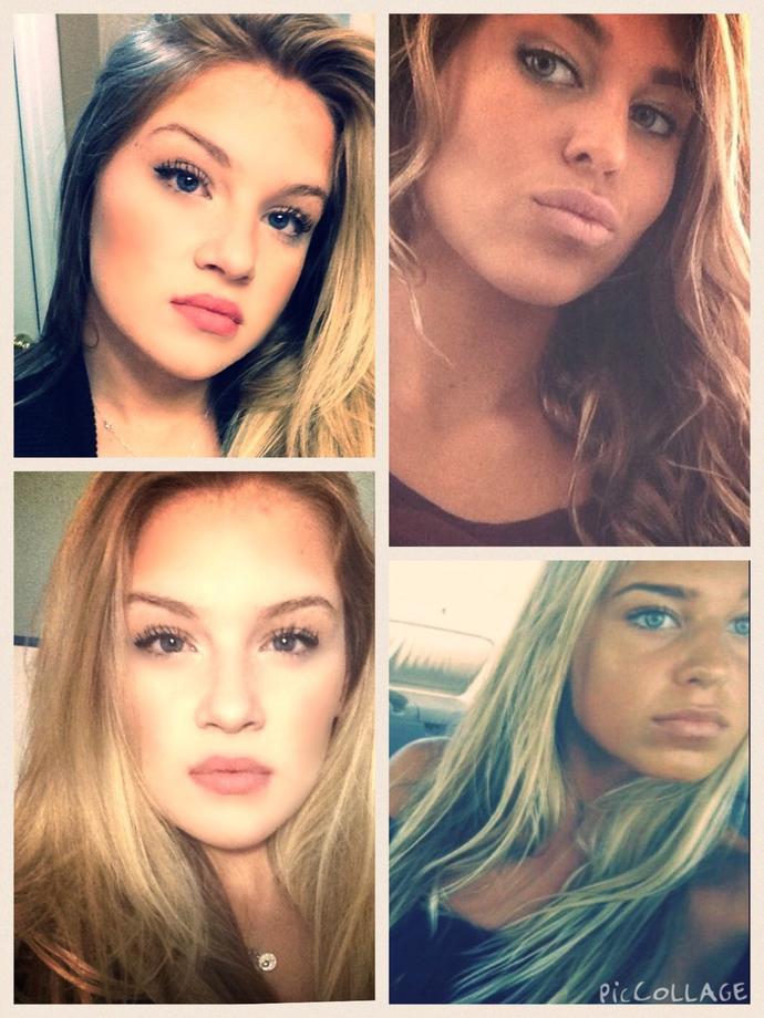 Which girl has a prettier face?