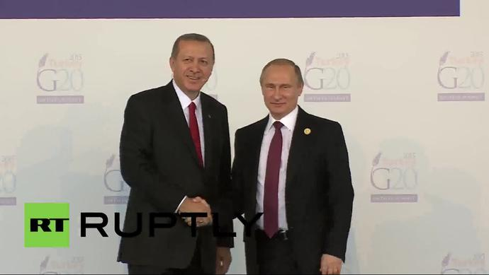 Do you think Putin and Erdogan look good together?