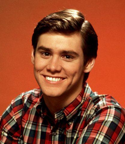 Would you say the young jim carrey was goodlooking?