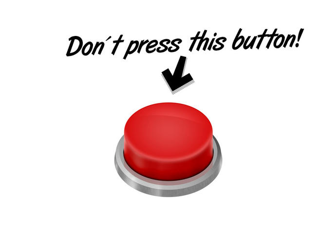 GAGers if I leave this button here can you please do not press it?