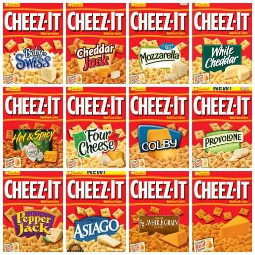 What's your favorite Cheez-it flavor?