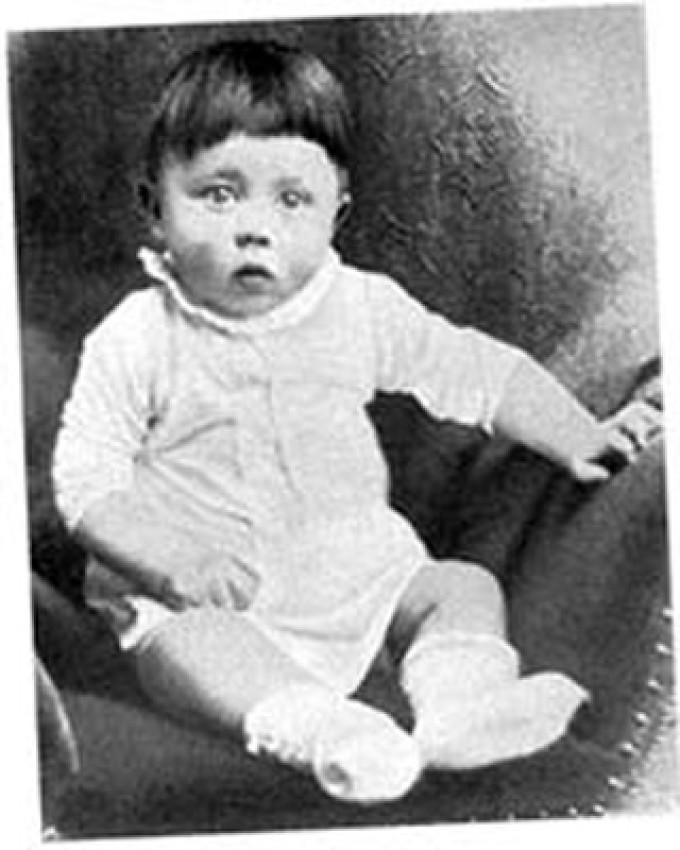 Aren't most people cute as babies (even evil people from the past)?