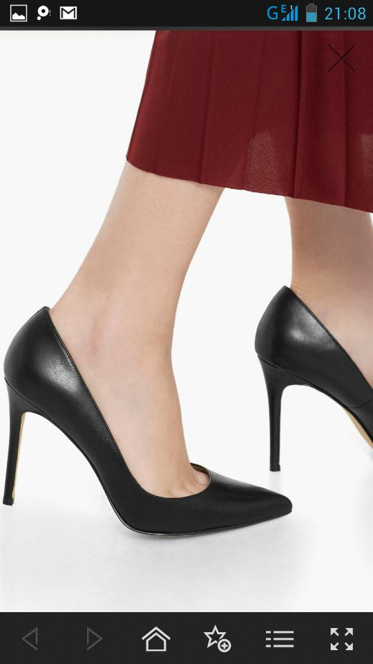 I got black pumps but when I'm wearing them  you can kinda see my toes , should I return ?