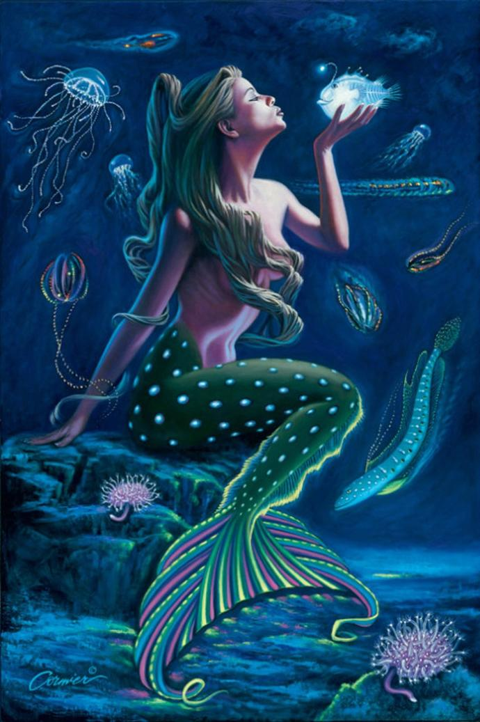 Girls, if you could be any kind of mermaid, what kind would you want to be?