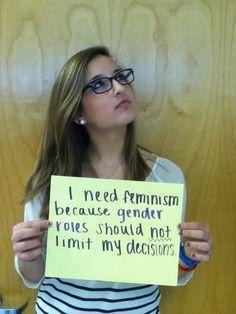 Dating a feminist girl