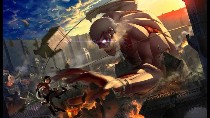Any one here an Attack on titan fan?