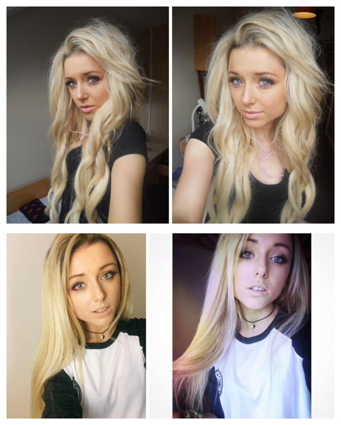 Welcome to the blonde circle.Do you like this blonde girl,Rate her out of 10?