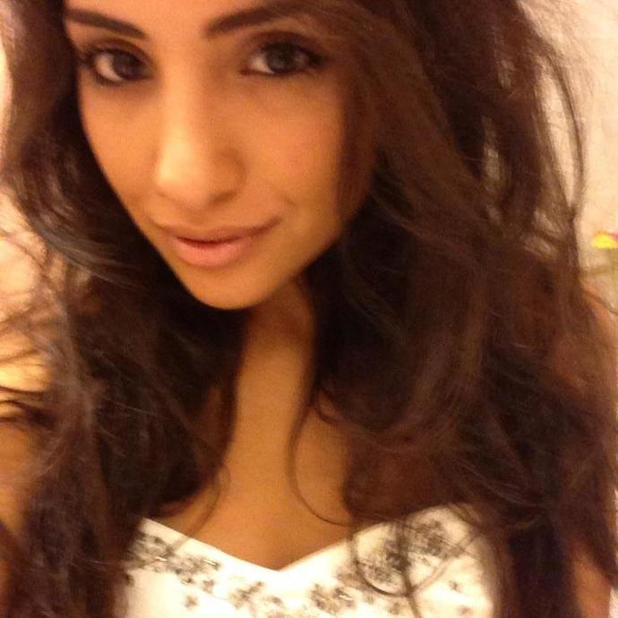 Hot young latin girl