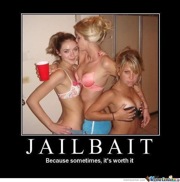 At what age is a girl considered JAILBAIT in dating terms and why?