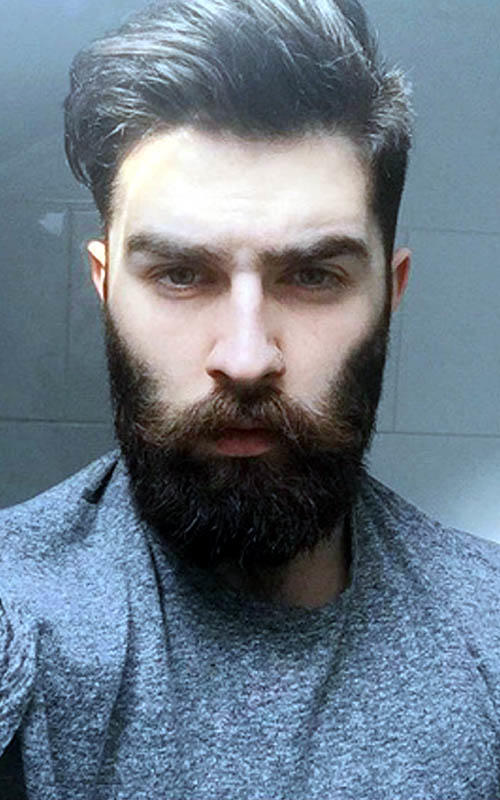 which bearded guy is better looking and why? rate each 1-10 on looks?