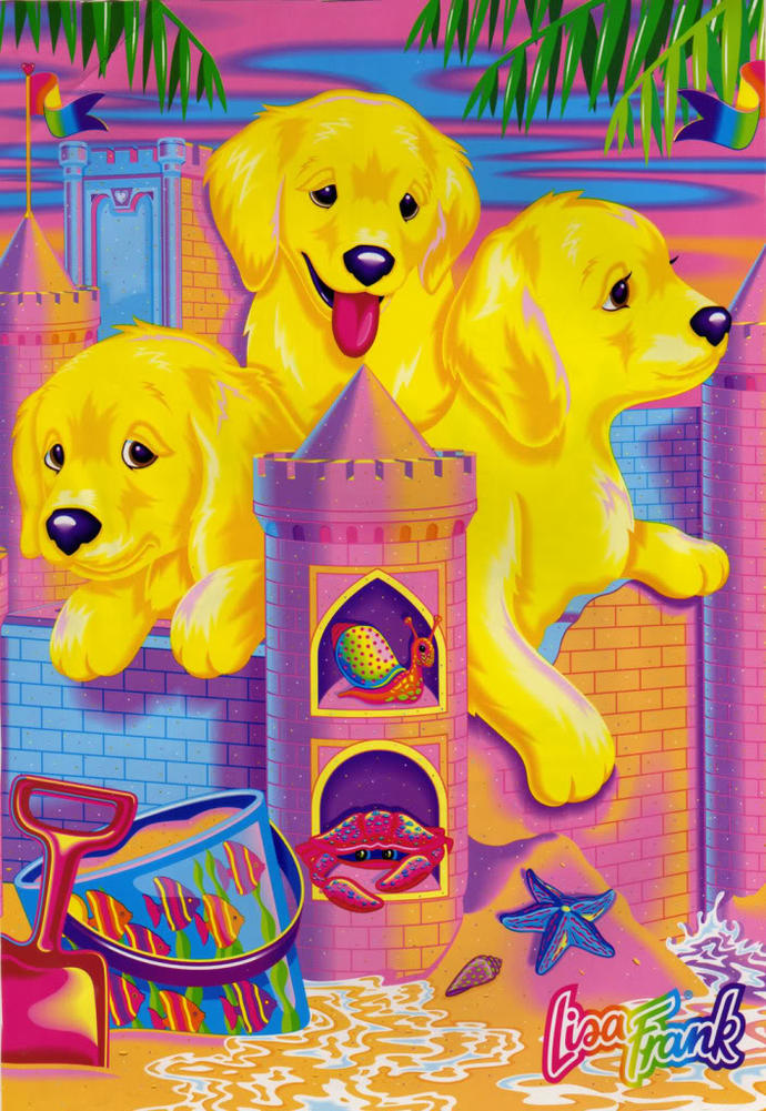 Girls, do you remember Lisa Frank?