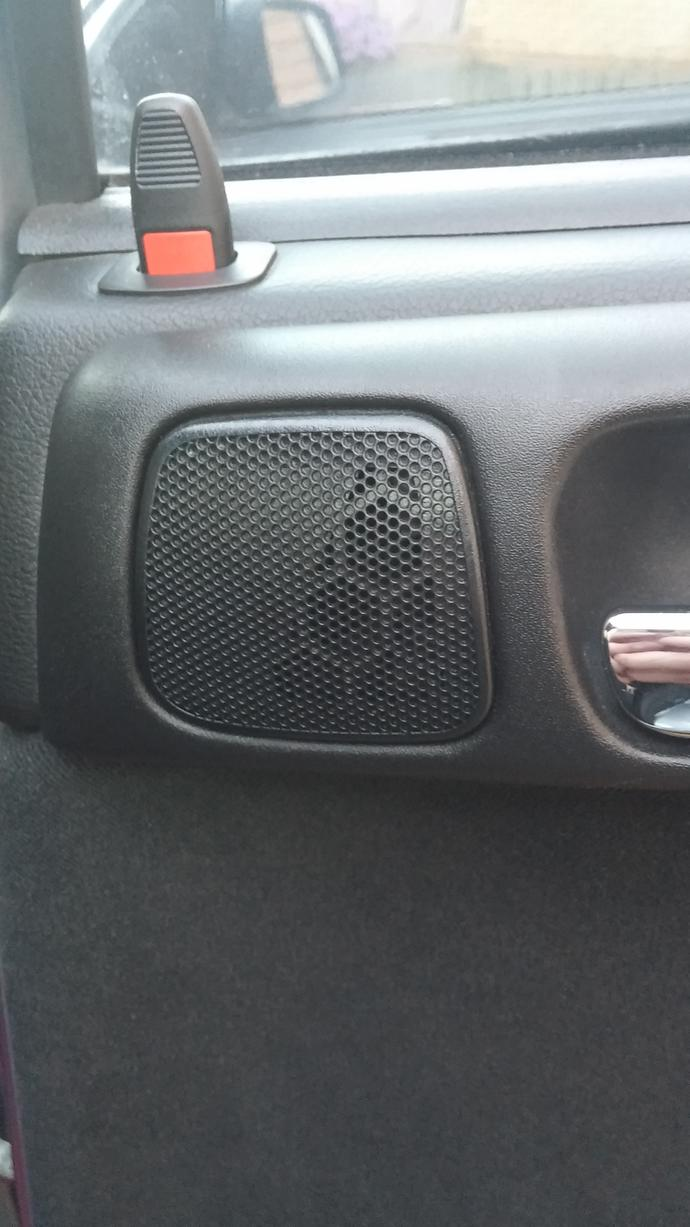 Question for someone good with cars, is this a speaker blank?