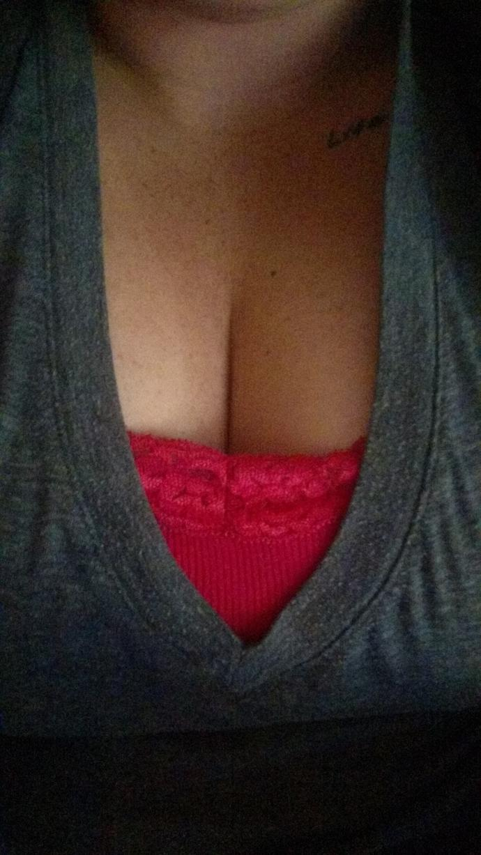 Is this too much cleavage?