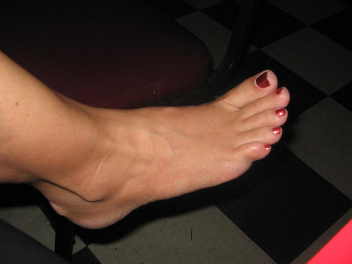 Which one of these feet do you like the most?