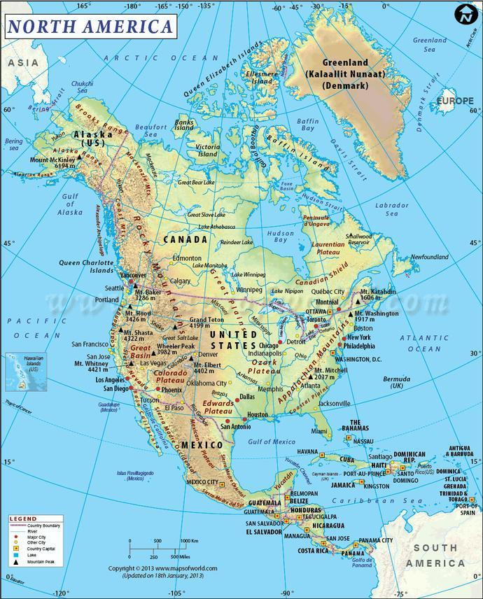 Would you rather live in Canada, the US or Mexico?