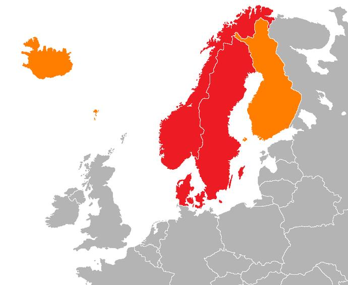 Would you rather live in Denmark, Iceland, Norway, Sweden or Finland?