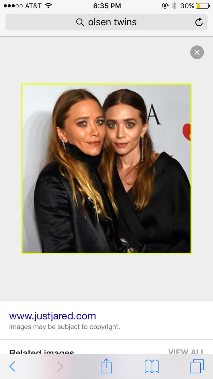 Do you think the Olsen twins are pretty ?