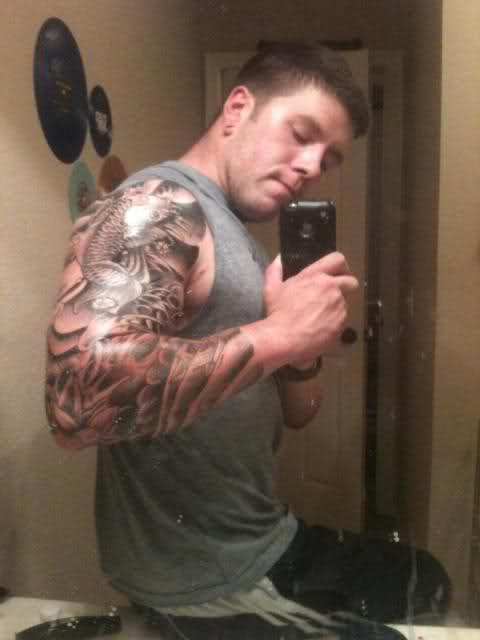 I want to get a 3 quarter sleeve tattoo?