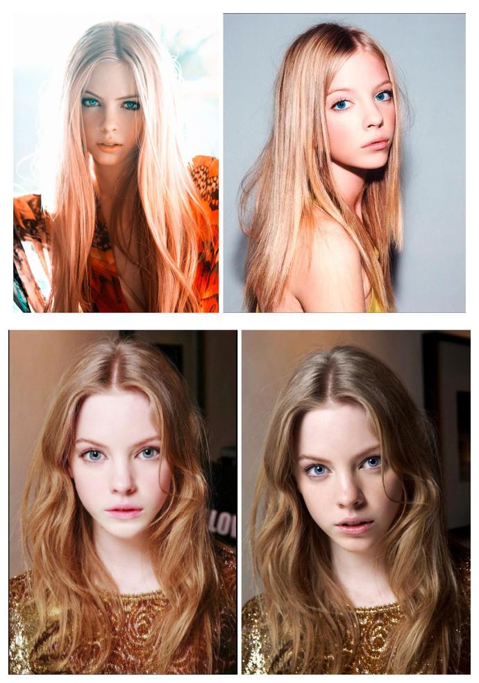 Do you like this model? Is she a beautiful angel?