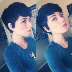 Guys, pixie cut on a girl? Yes or no?