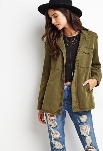 Where can I get a cute army jacket?