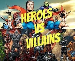Would you rather be a superhero or a Villain?