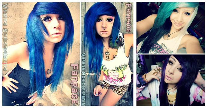 How does she look? Do you like this Emo girl?