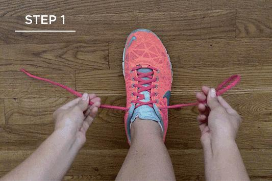 Do you tie, tuck, or strap your shoes?