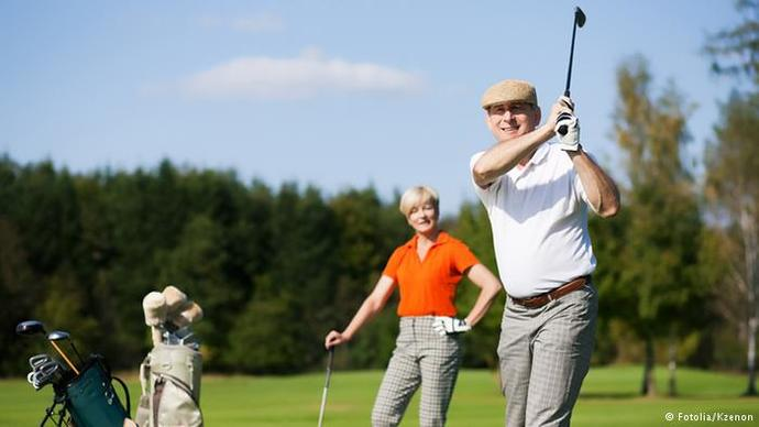 Golf is a sport for old people. Agree or disagree?
