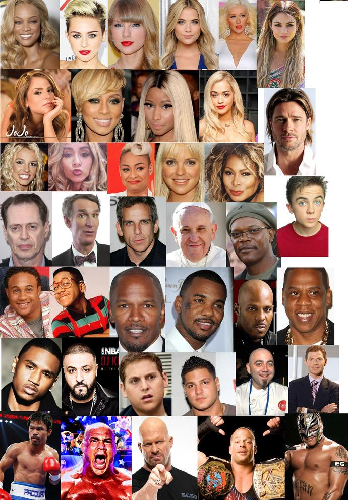 GUESS, What do all these celebrities have in common?