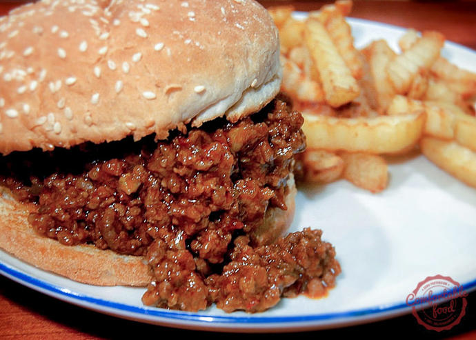 If you could have a big yummy sloppy meal right about now, what would it be?