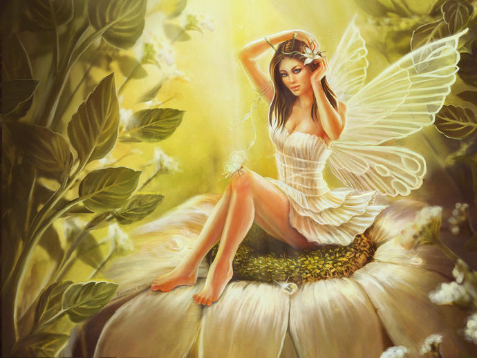Girls, OK I know this is a silly question, but if you were a fairy, what would you wear?