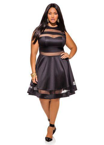 Is this plus size dress too revealing?