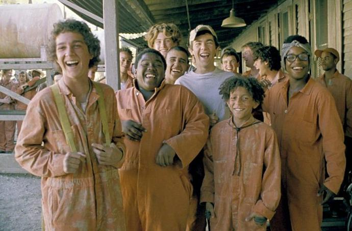 Did you watch holes when you were a kid ?