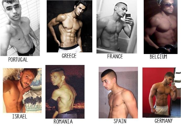 Girls, new compatition in Europe! the hottest men ! who do you think must to win?