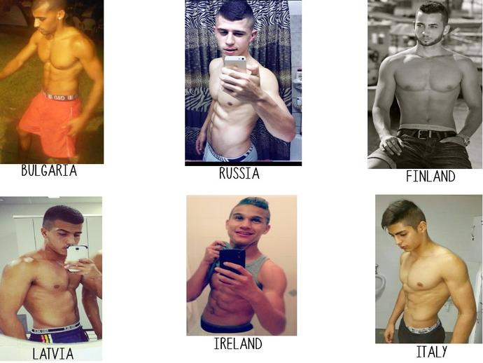 Girls, who do you think the most sexy tha hot men in the picture ?