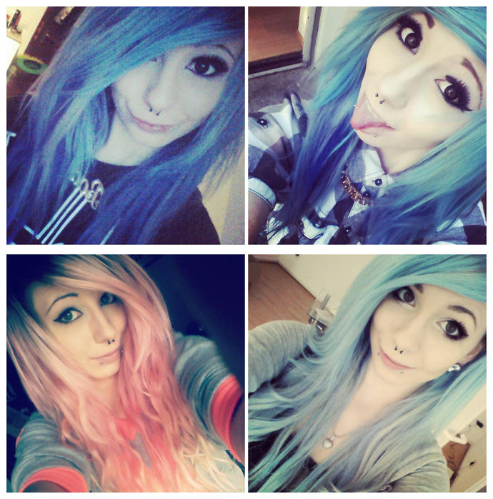 What's your opinion about this EMO girl? Do you like her face and style?